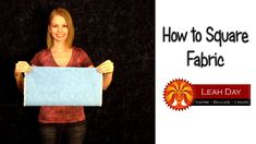Quilt Fabric Folded for Perfect Straight Cuts | Keeping u n Stitches Quilting