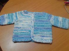 chalequito de bebe a crochet