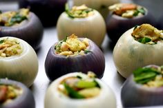 Roasted Stuffed Onions /  60 Thanksgiving Side Dishes To Make Absolutely Everyone Happy (via BuzzFeed)