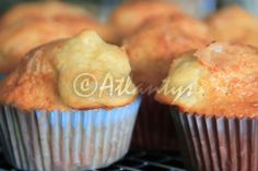Terapia do Tacho: Queques de iogurte e lima (Yogurt and lime cupcakes)