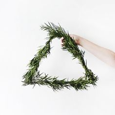 change it up this holiday season and make this unique and modern wreath!