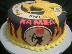 Made by LaKeisha Keck with Sweet Tooth Mother  and Daughter cakes.  Hunger Games cake