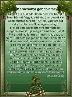 Karácsonyi gondolatok