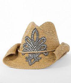 Rhinestone Applique Cowboy Hat #buckle #fashion #hat www.buckle.com