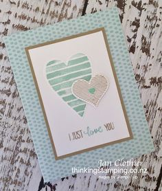 The Paper Players: PP377 - A Clean-and-Simple Challenge from Joanne - LOVE Notes