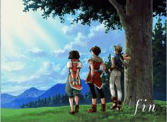 Suikoden 2 - Best game ever.  Seriously, it's probably the best game ever made for the PSX.