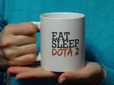 Eat sleep dota 2 Mug, Funny mug, Cool mug, Novelty mug, Ceramic mug…
