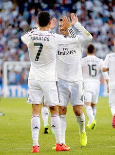 Ramos & Ronaldo :-)