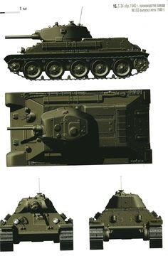 Т-34-76   выпуска 1940 г с пушкой   Л-11