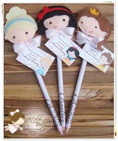 """Ponteiras """"Princesas Da Disney"""""""