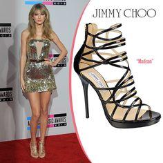 10d98096a550 Taylor Swift in Jimmy Choo Madison Platform Sandals - ShoeRazzi