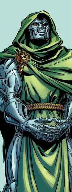 Dr Doom by David Yardin Marvel Comic Universe, Comics Universe, Marvel Vs, Marvel Heroes, Comic Villains, Evil Villains, Marvel Characters, Comic Books Art, Comic Art