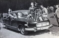 Camera on Tratra Barandov Studios, Czechoslovakia, Vintage Images, Vintage Cars, Antique Cars, Vintage Motorcycles, Cars And Motorcycles, Soviet Union, Dream Cars, Classic Cars, Old Things