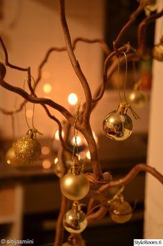 Joulupallot, peikonpuunoksa