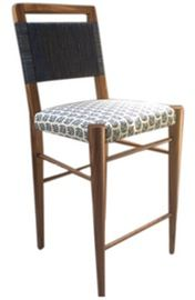 Harbinger Quest Counter Stool   Contemporary, Traditional, Upholstery  Fabric, Wood, Barstools  Counter Stool by Harbinger