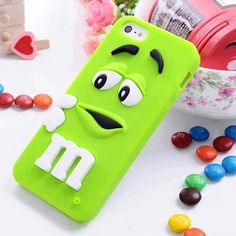 Green mm phone case
