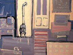 "Saatchi Art Artist: Robert Bubel; Oil 2012 Painting ""'Describing the world.Introduction'"""