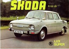 100 - Skoda - Škoda Auto Europe Car, Commercial Vehicle, Small Cars, Car Humor, Old Cars, Sport Cars, Vintage Ads, Car Pictures, Cars And Motorcycles
