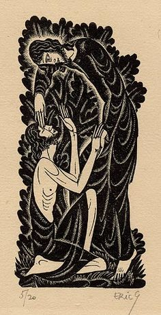 Bartimeus by Eric Gill