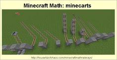 Encourage children to design their own testing ground to see how far minecarts move in different conditions. Educational Websites, Educational Activities, Math Activities, Minecraft Challenges, Minecraft School, Well Trained Mind, Random Questions, Minecraft Pictures, Life Learning