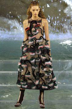 Fendi Fall 2016 Couture Fashion Show - Lauren de Graaf (Elite)