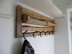 porte manteau de design en bois
