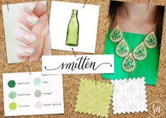 Mood board :: Emerald Green Envy