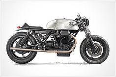 "Anvil Motociclette's '85 Moto Guzzi SP 1000 - ""MilleELR"" - Pipeburn - Purveyors of Classic Motorcycles, Cafe Racers & Custom motorbikes"