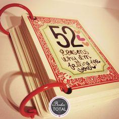 ¡Demuéstrale tu amor! Descubre nuestra #Fotogalería con ideas para regalos de aniversario. #DIY