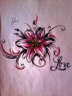lily_tattoo_by_lesweetlou-d5984js.jpg (1200×1600)