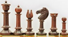 Bud Rose Wood Handmade Chess Set Pieces w/o Board. http://www.chessbazaar.com/chess-pieces/wooden-chess-pieces/bud-rose-wood-handmade-chess-set-pieces-w-o-board.html
