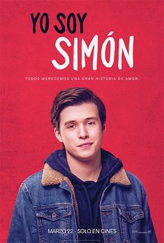 """""""Love, Simon"""" - Simon Spier keeps a huge secret from his family, his friends, and all of his classmates: he's gay. When that secret is threatened, Simon must face everyone and come to terms with his identity. Nick Robinson, Amor Simon, Latest Hollywood Movies, Iconic Movies, Great Love Stories, Love Story, Great Films, Good Movies, Love Simon Movie"""