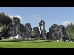 Externsteine: Germany's Sacred Stone Formation