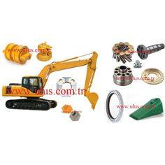 Komatsu Loader Spare Parts Cummins, Nissan, Komatsu Excavator, Excavator Parts, Spare Parts, Istanbul, Construction, Toys, Vehicles