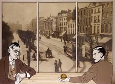 Robert Ballagh (Dublin, September is an Irish artist. In July 2012 L'Origine du Langage Eugene Ionesco, Ireland Holiday, Drawing Sketches, Drawings, Irish Art, Renoir, Black And White Pictures, Museum Of Modern Art, Art Auction
