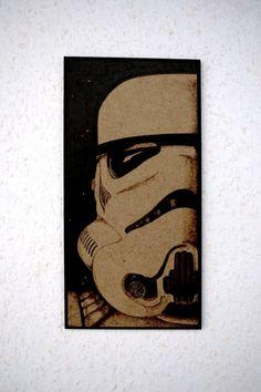 Star Wars - Stormtrooper wall decoration