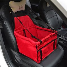 Legendog Waterproof Pet Dog Booster Car Seat Exquisite with Clip-on Leash *** Additional info @ http://www.amazon.com/gp/product/B01CVHE654/?tag=lizloveshoes-20&pjk=240716060622