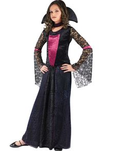 Vamptessa Girls Costume