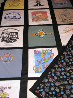 Bicycle TShirts Quilt for Son
