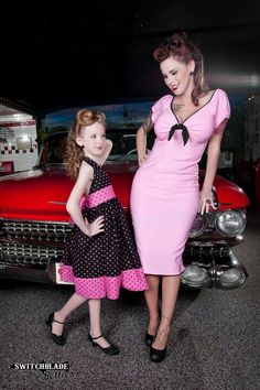 Rockabilly duo... Oh love! This would so be me if I had a daughter!