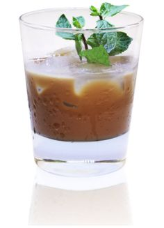 Mommy Elixir. Patron XO Cafe Dark Cocoa 2 oz. White Crème de Menthe 0.5 oz. Cream 1 oz. Fresh mint for garnish Shake all ingredients with ice and strain into a rocks glass with ice. Garnish with fresh mint.