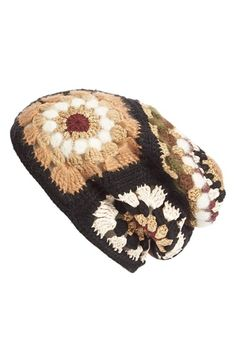 Rosetta Getty 'Granny Square' Mixed Media Hat available at #Nordstrom