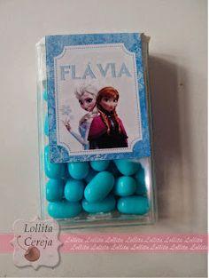 Lollita Cereja: Tic Tac Personalizado Frozen