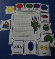 Les monstres : accessoires pour activités préscolaires - Les éditions Boîte à Surprises