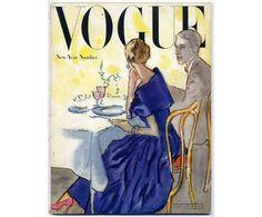 VOGUE January 1948, with illustrations by René Bouché, Picasso, André Derain