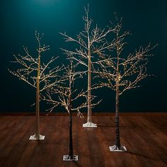 Buy John Lewis Pre-Lit Birch Twig Tree, Copper, 4ft Online at johnlewis.com