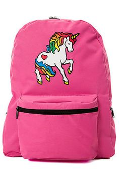 MKL Accessories Backpack Magical Unicorn in Pink