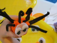 Play Dough Spiders