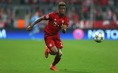Download wallpapers Kingsley Coman, 4k, footballers, Bayern Munich, Bundesliga, soccer, football, Bayern Munich FC
