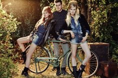 #denim total outfits